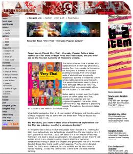 Bangkokrecorder Urban Magazine VT a