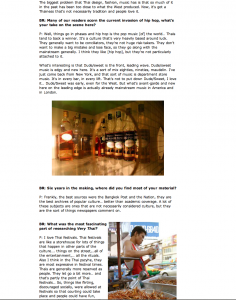 Bangkokrecorder Urban Magazine VT c