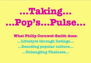 Pecha Kutcha Taking Pop's Pulse title