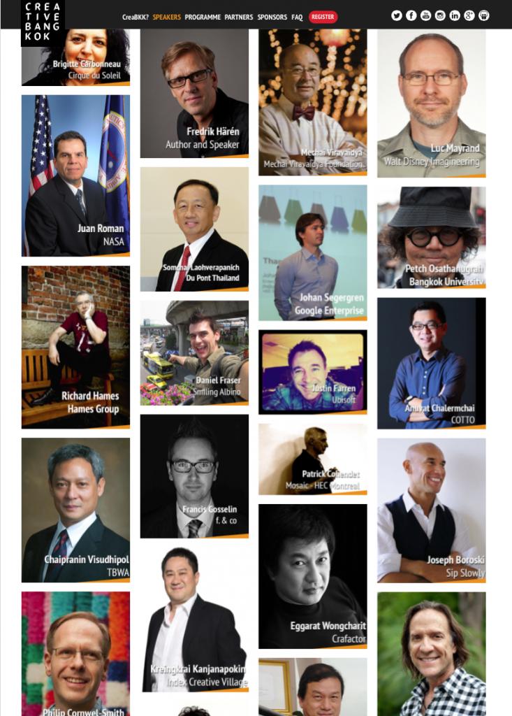 Creative Bangkok Speakers